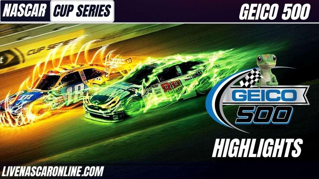 Nascar Cup Series Geico 500 at Talladega HIGHLIGHTS