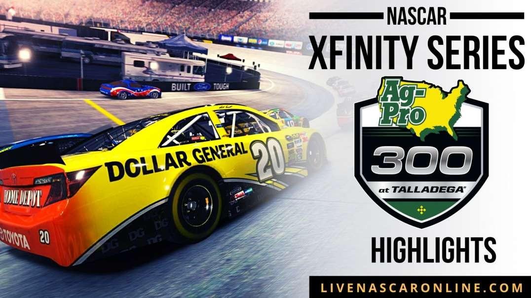 NASCAR Xfinity Series Ag-Pro 300 HIGHLIGHTS