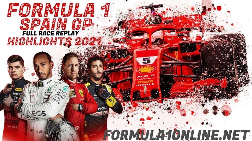 Formula 1 Spain Grand Prix Final Highlights 2021
