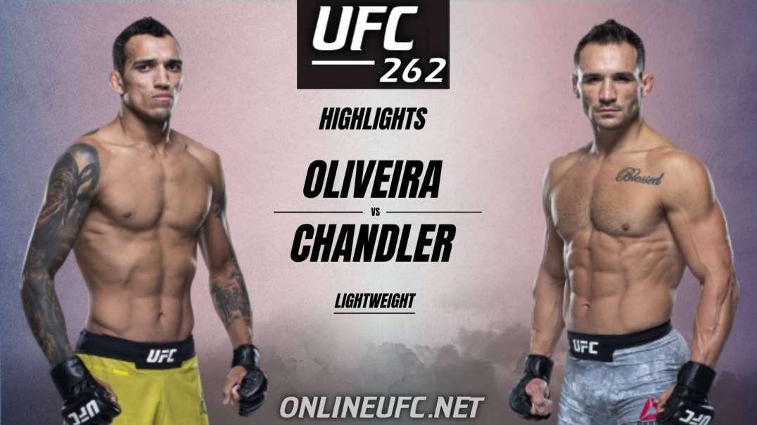 Charles Oliveira vs Michael Chandler Highlights 2021 UFC 262