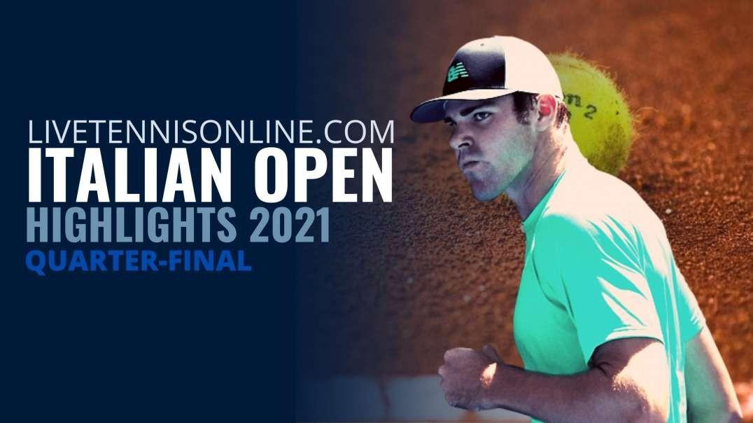 Delbonis vs Opelka Italian Open QF Highlights 2021