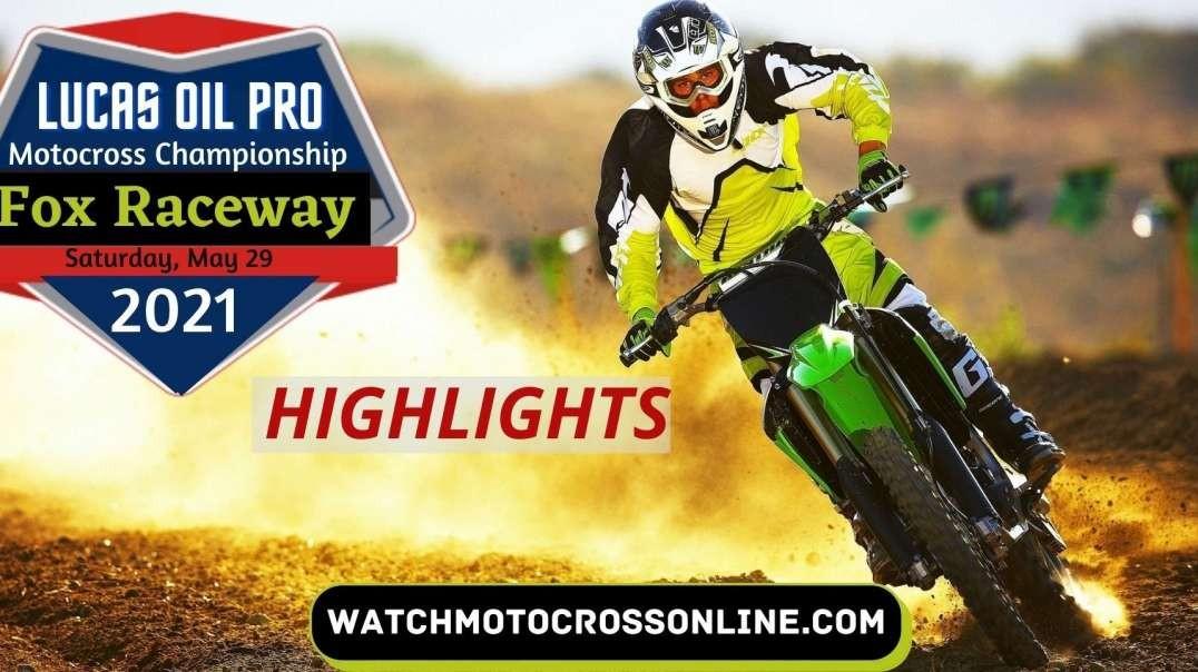 Fox Raceway Highlights 2021 | Motocross