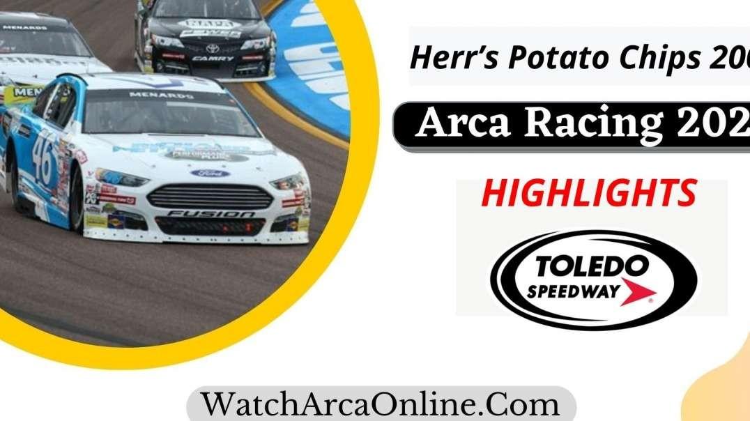 Herr's Potato Chips 200 ARCA Racing Highlights 2021