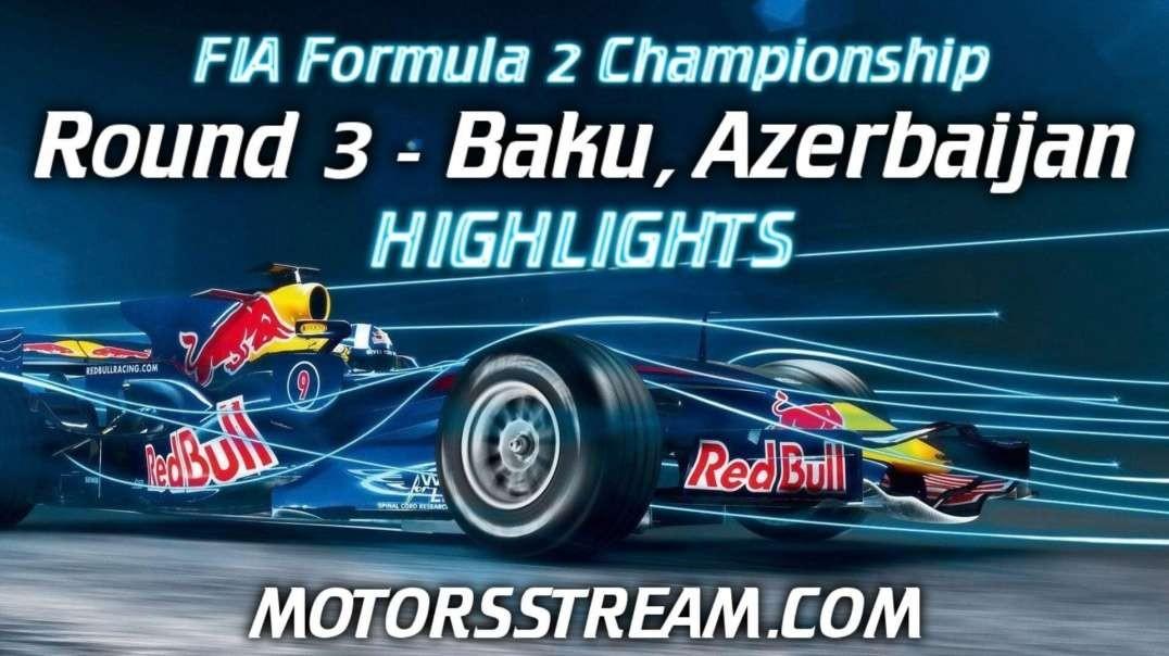 Baku Grand Prix Highlights 2021 | Formula 2