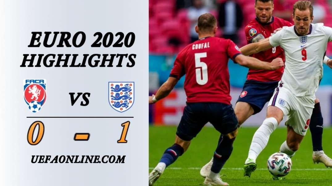 England vs Czech Republic Highlights   UEFA Euro 2020