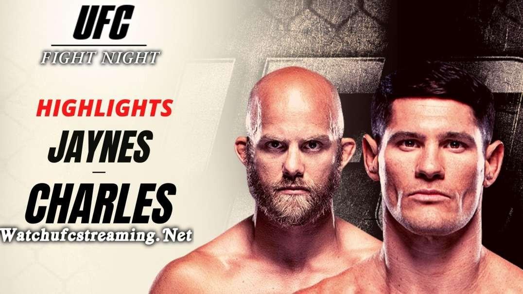 Charles Rosa vs Justin Jaynes Highlights 2021 : UFC Fight Night