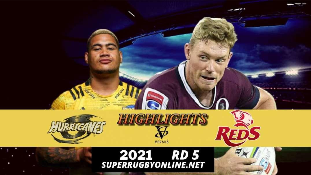 Hurricanes vs Reds Highlights Rd 5 | SR- Trans Tasman