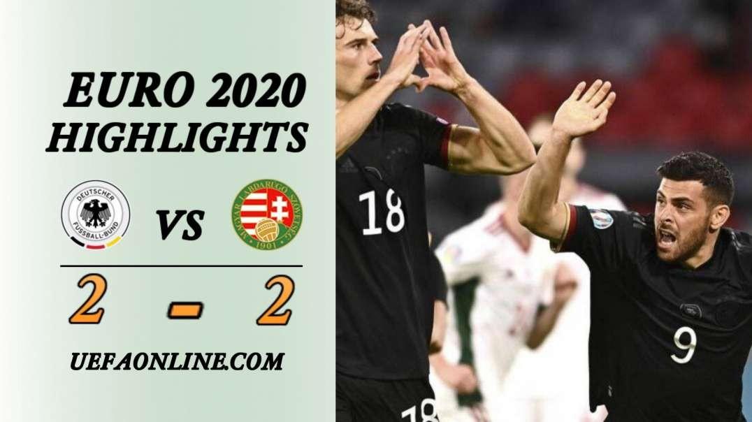 Germany vs Hungary Highlights   UEFA Euro 2020