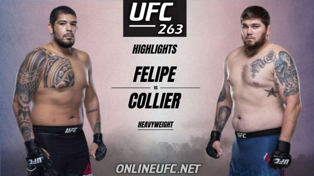 Carlos Felipe vs Jake Collier Highlights 2021   UFC 263
