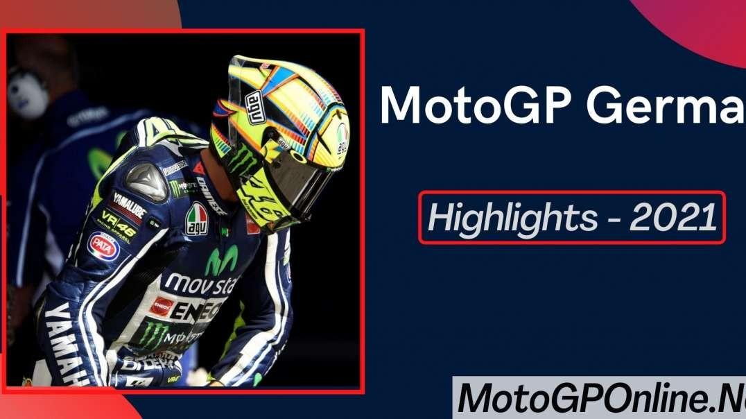 MotoGP German Grand Prix Highlights 2021