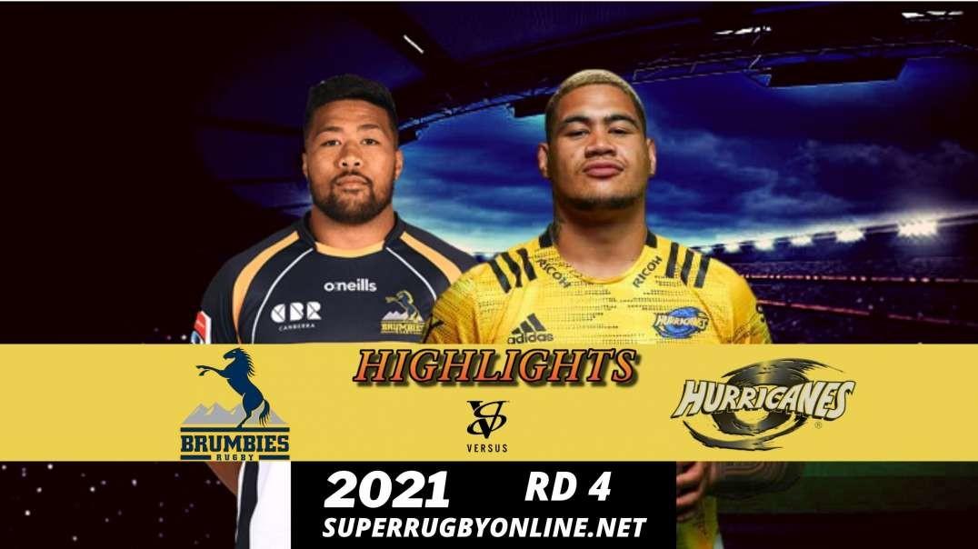 Brumbies vs Hurricanes Highlights 2021 | SR- Trans Tasman