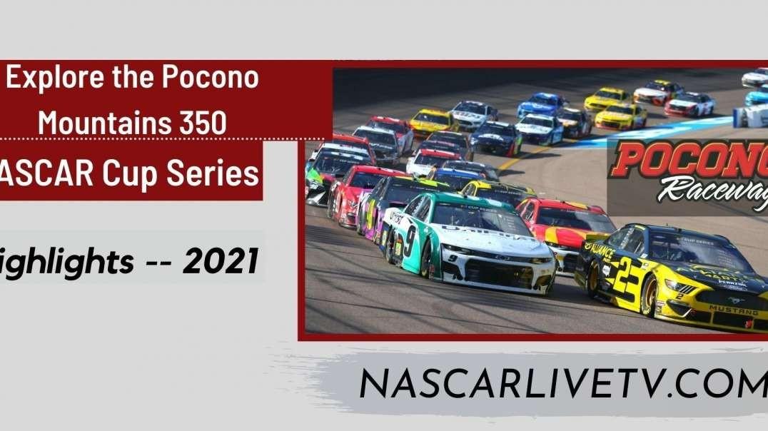 Explore The Pocono Mountains 350 Highlights NASCAR 2021