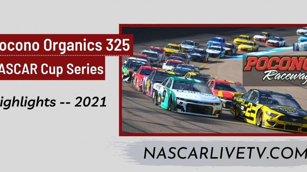 Pocono Organics CBD 325 Highlights NASCAR Cup 2021
