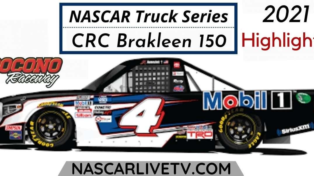 CRC Brakleen 150 Highlights NASCAR Truck Series 2021