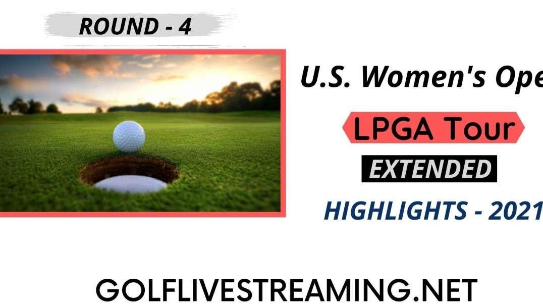 U.S. Women's Open Round 4 Extended Highlights LPGA 2021
