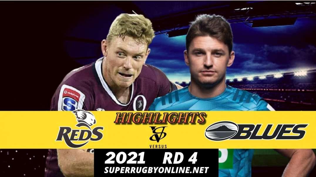Reds vs Blues Rd 4 Highlights 2021