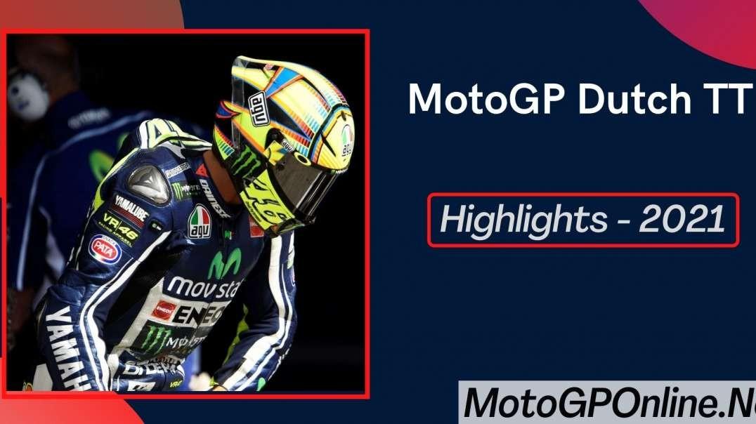 MotoGP Dutch TT Grand Prix Highlights 2021