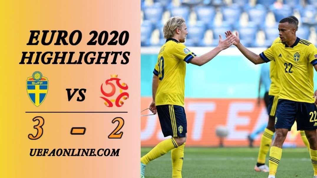 Sweden vs Poland Highlights   UEFA Euro 2020