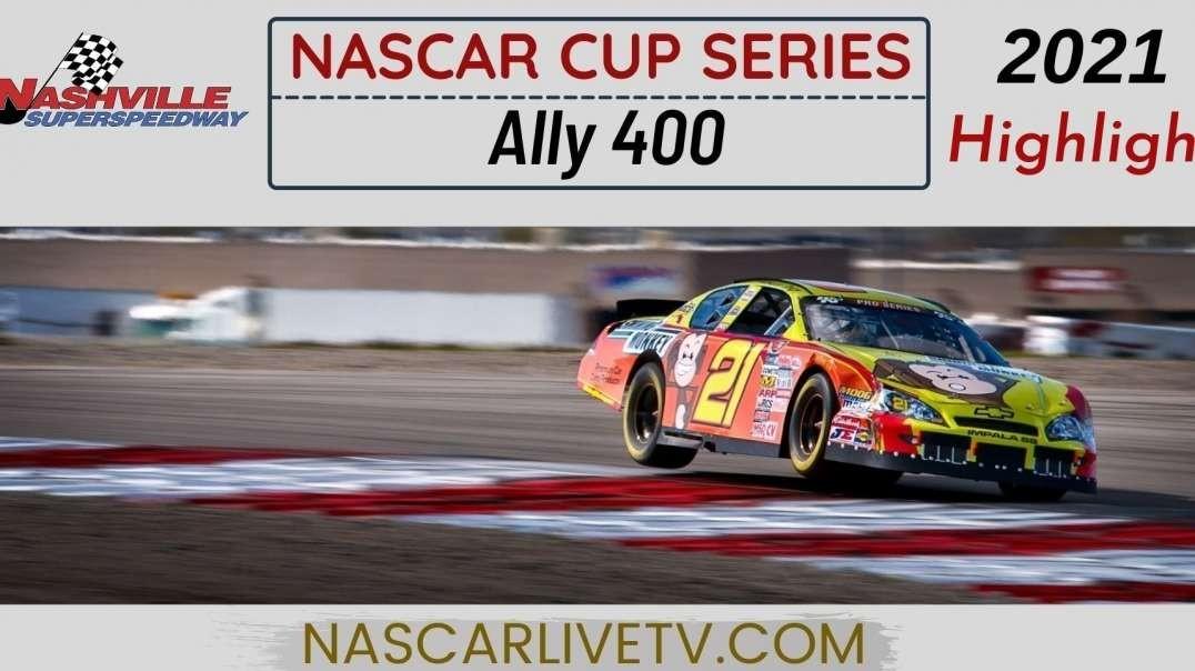 Ally 400 Highlights NASCAR Cup Series 2021