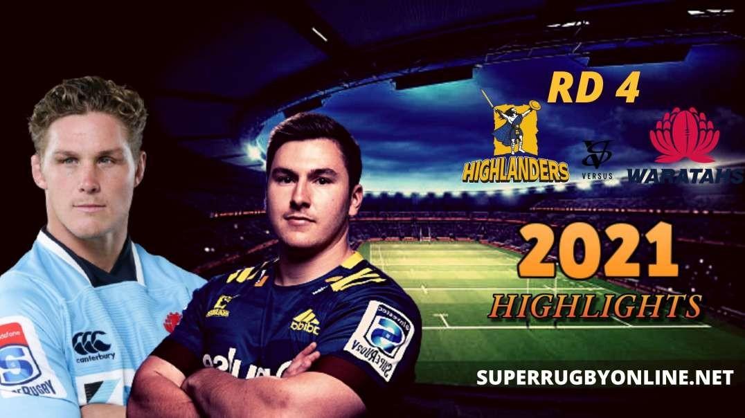 Highlanders vs Waratahs Highlights 2021 | SR-Trans Tasman