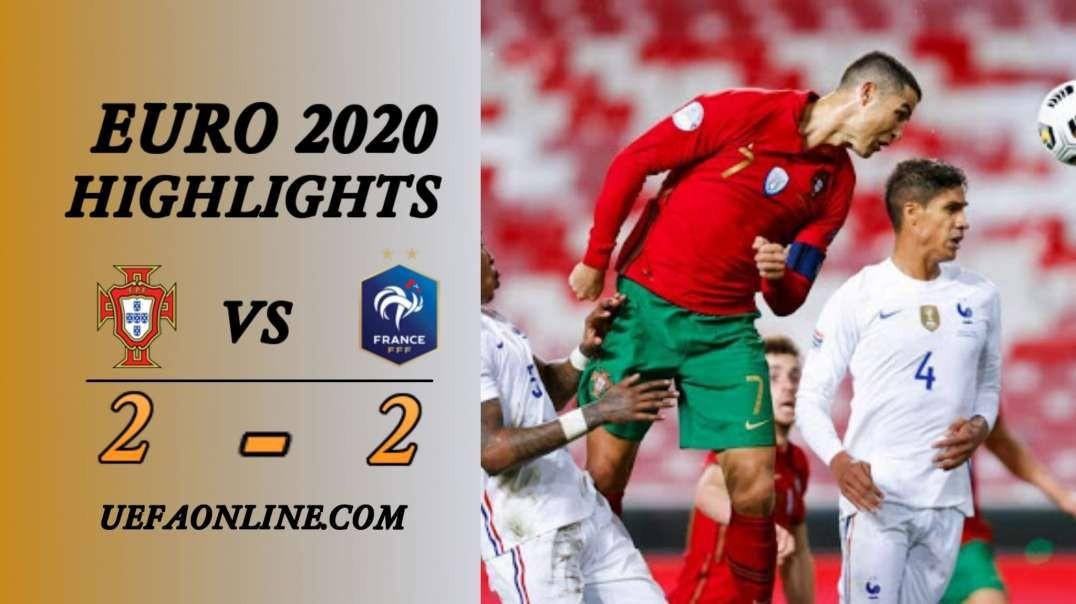 Portugal vs France Highlights   UEFA Euro 2020