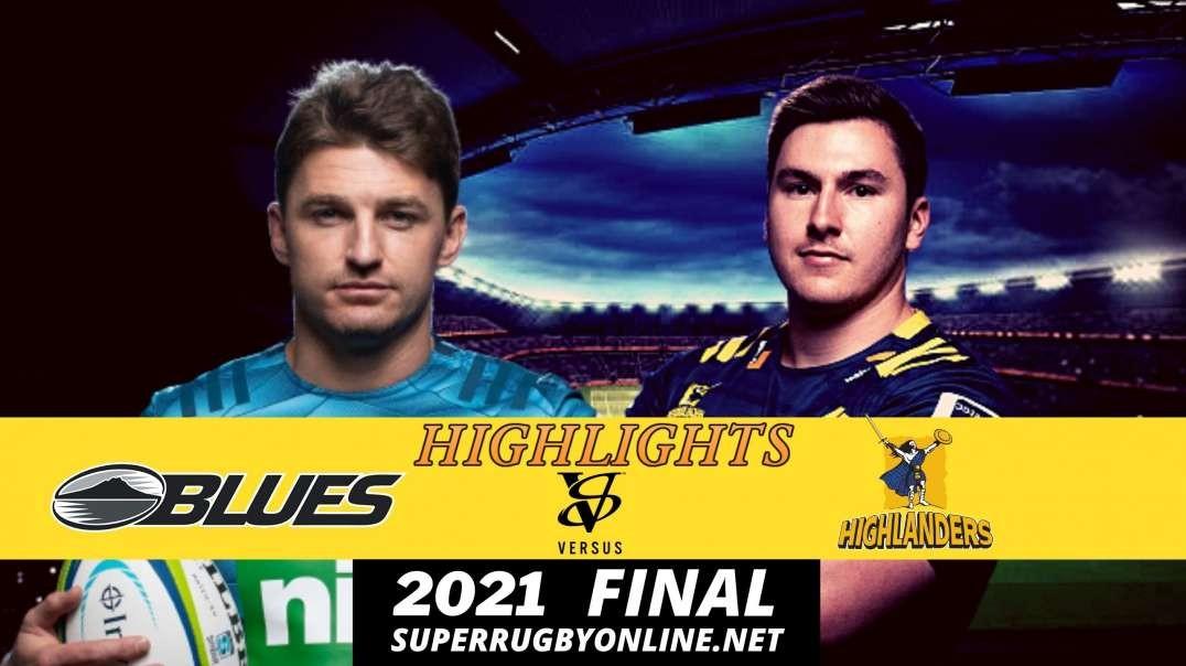 Blues vs Highlanders Highlights Final Rd | SR- Trans Tasman