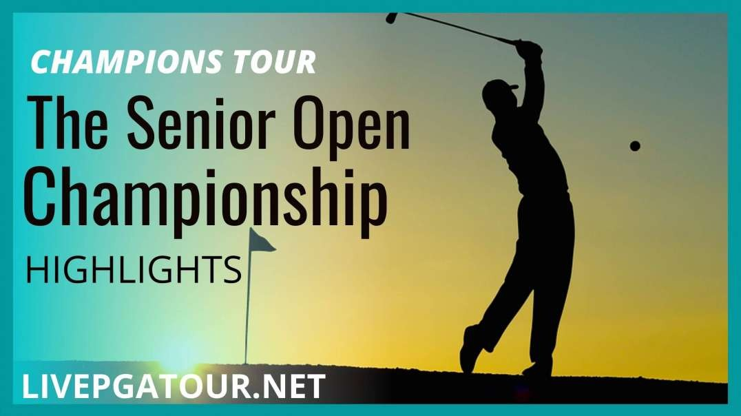 The Senior Open Day 2 Highlights 2021 | Champions Tour