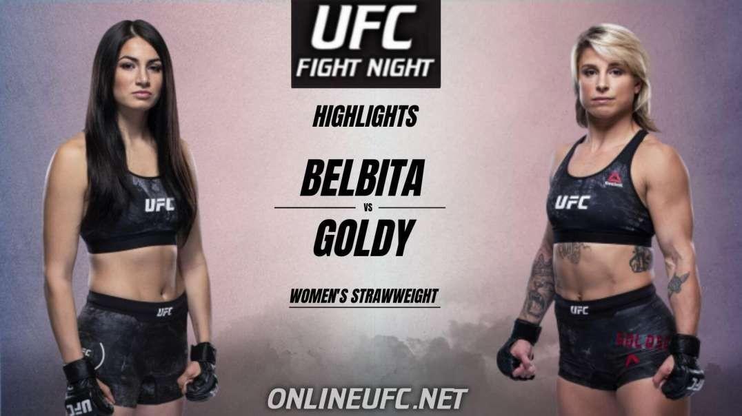 Belbita vs Goldy Highlights 2021 | UFC Fight Night