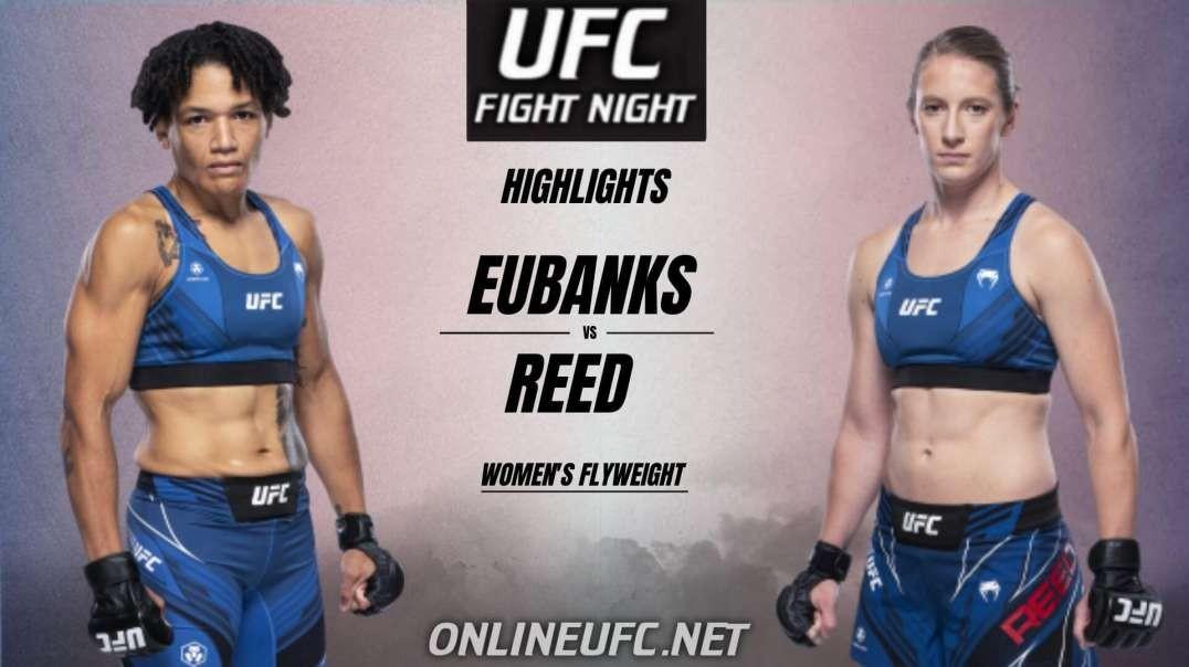 Eubanks vs Reed Highlights 2021 | UFC Fight Night