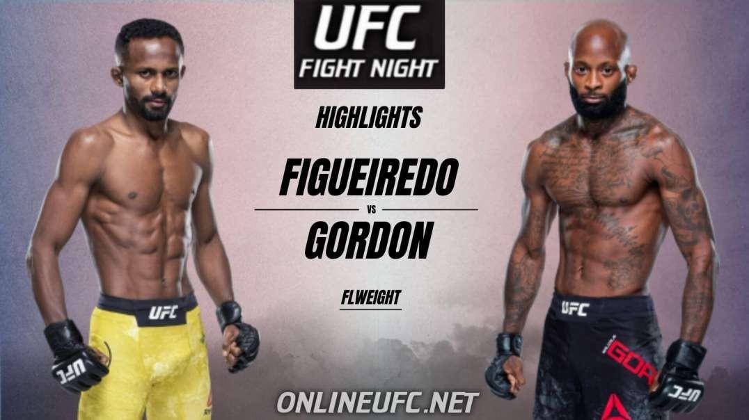 Francisco Figueiredo vs Malcolm Gordon Highlights 2021 | UFC Fight Night