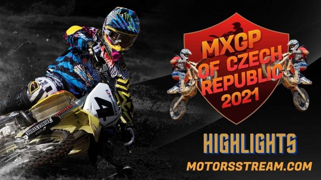 FIM Motocross WC Czech Republic Highlight 2021 | MXGP