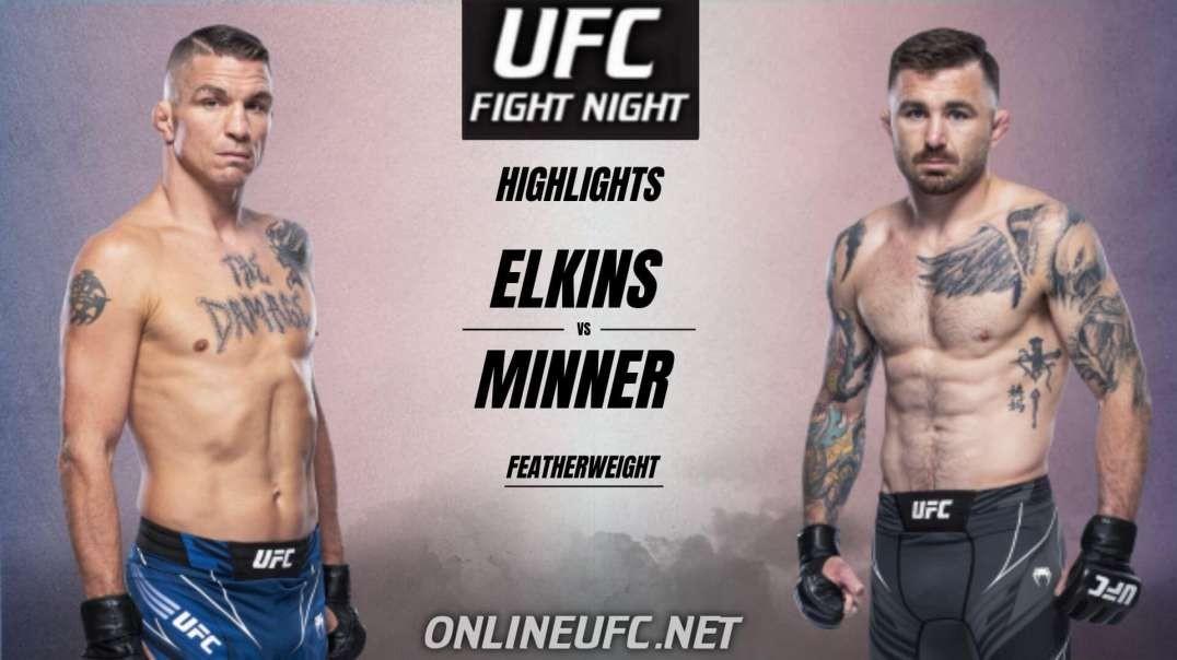 Elkins vs Minner Highlights 2021 | UFC Fight Night
