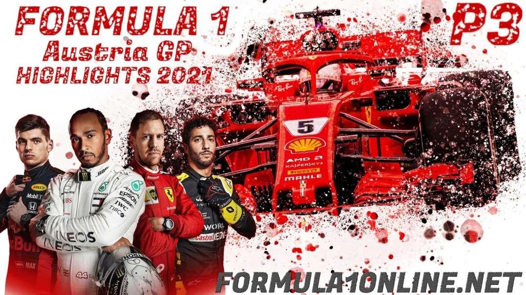 FP3 Austrian Grand Prix Highlights 2021