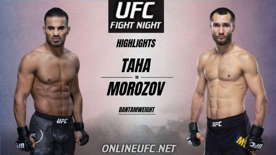 Khalid Taha vs Sergey Morozov Highlights 2021 | UFC Fight Night