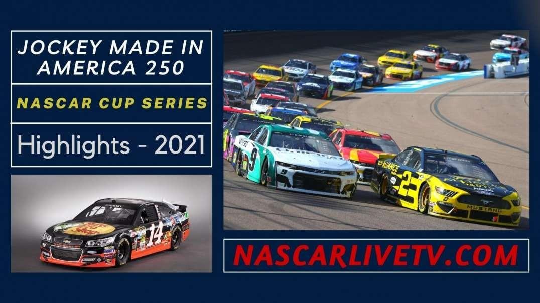 Jockey Made In America 250 Highlights NASCAR Cup 2021