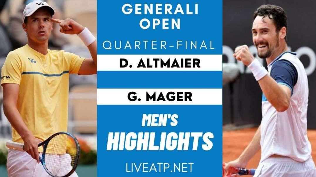 Generali Open Quarter-Final 2 Highlights 2021 | ATP