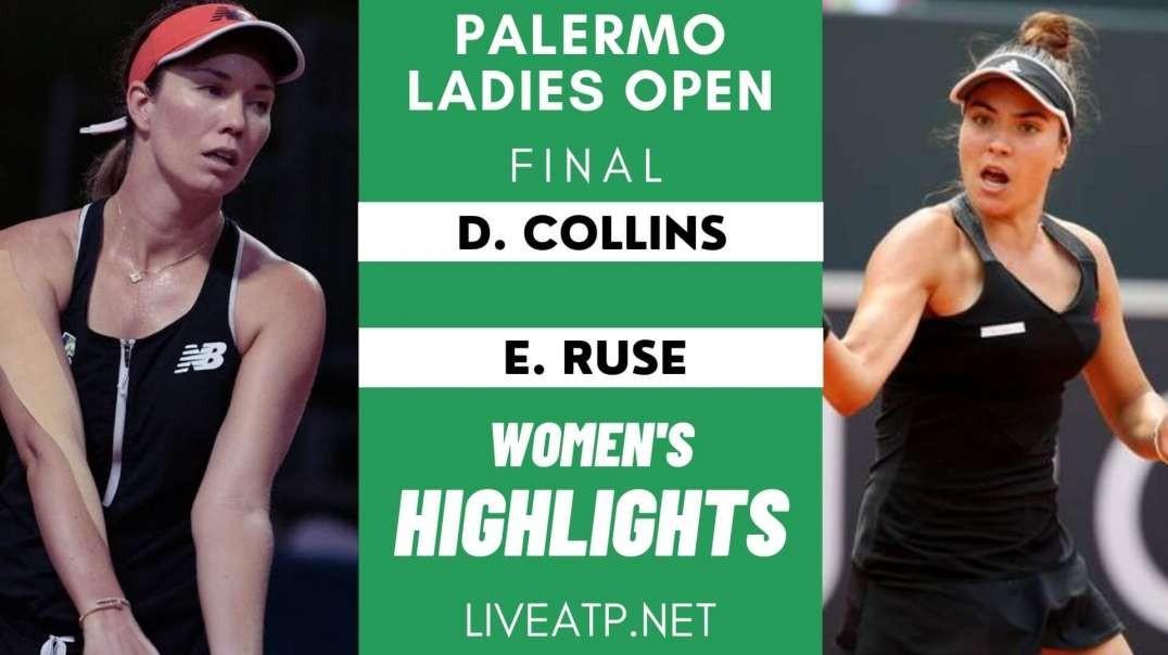 Palermo Ladies Open Final Highlights 2021 | WTA
