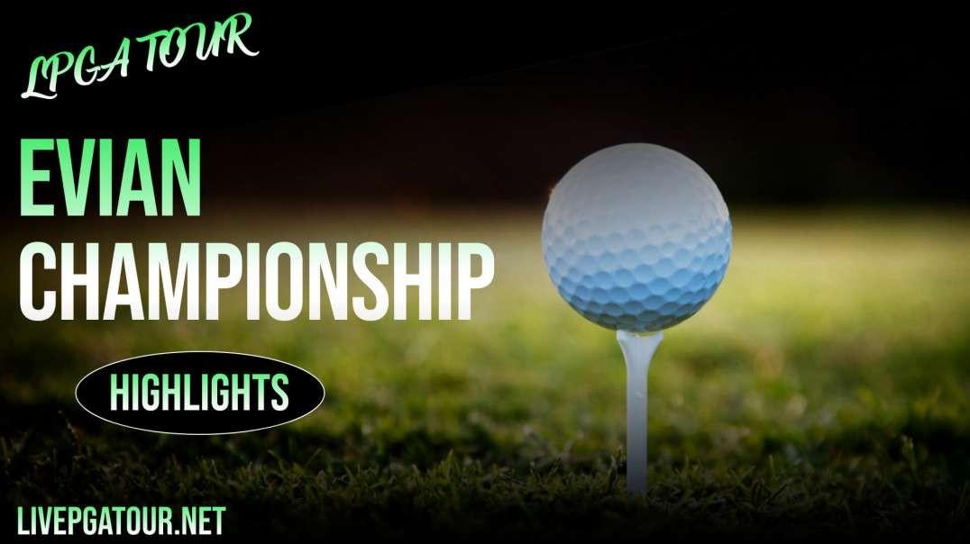 Evian Championship Day 2 Highlights 2021 | LPGA Tour
