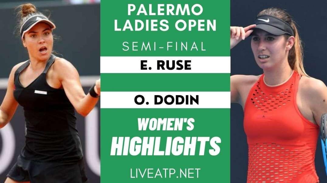 Palermo Ladies Semi-Final 2 Highlights 2021 | WTA