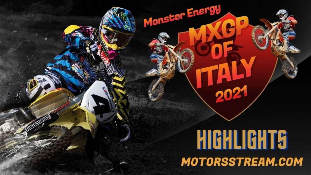 Italy Race Highlight 2021   MXGP
