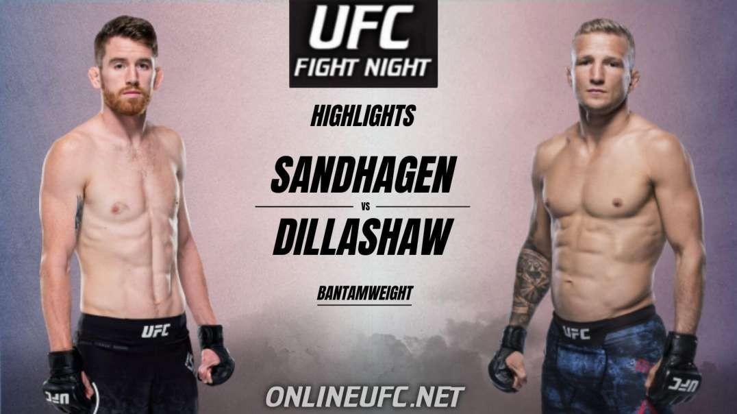 Sandhagen vs Dillashaw Highlights 2021 | UFC Fight Night