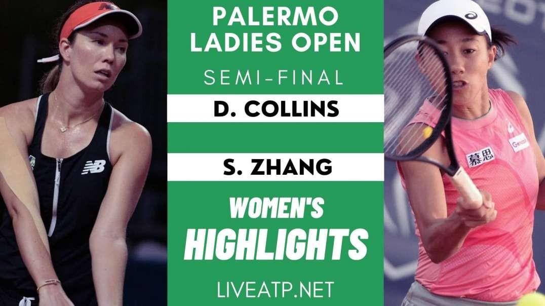 Palermo Ladies Semi-Final 1 Highlights 2021 | WTA