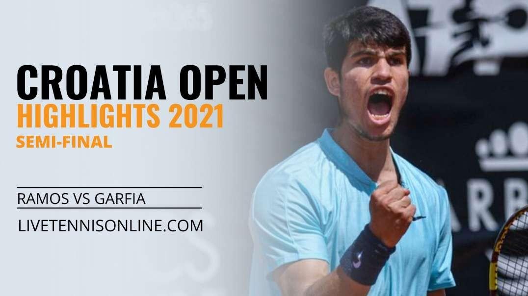 A. Ramos vs C. Garfia S-F Highlights 2021 | Croatia Open