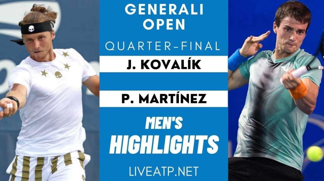 Generali Open Quarter-Final 4 Highlights 2021 | ATP