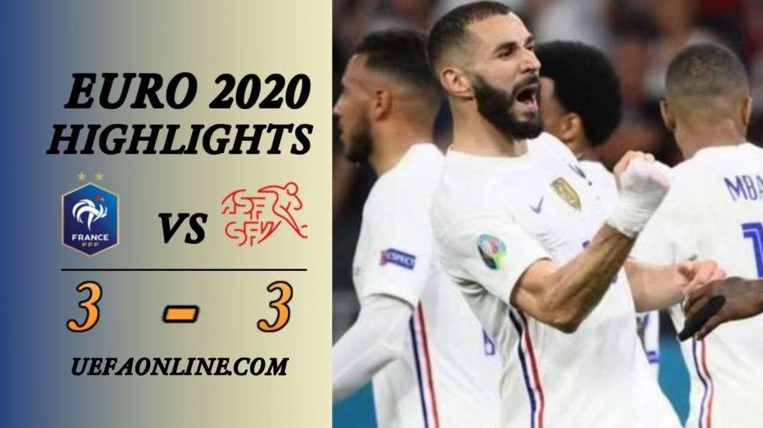 France vs Switzerland Highlights   UEFA Euro 2020