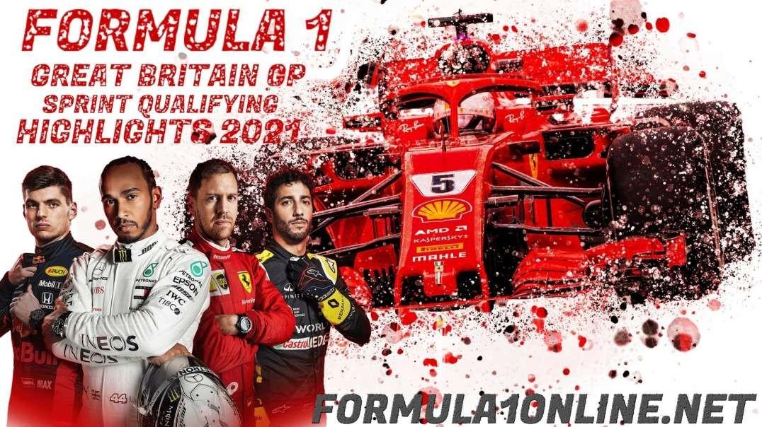F1 Sprint Highlights British Grand Prix 2021