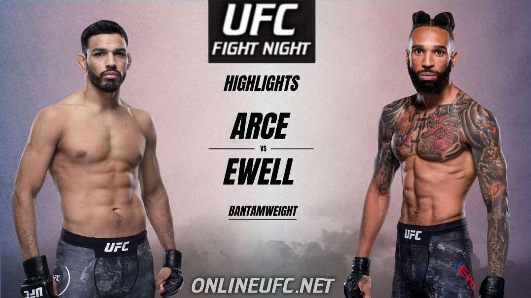 Arce vs Ewell Highlights 2021 | UFC Fight Night