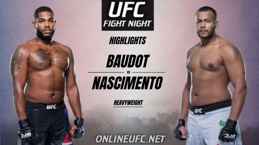 Alan Baudot vs Nascimento Ferreira Highlights 2021 | UFC Fight Night