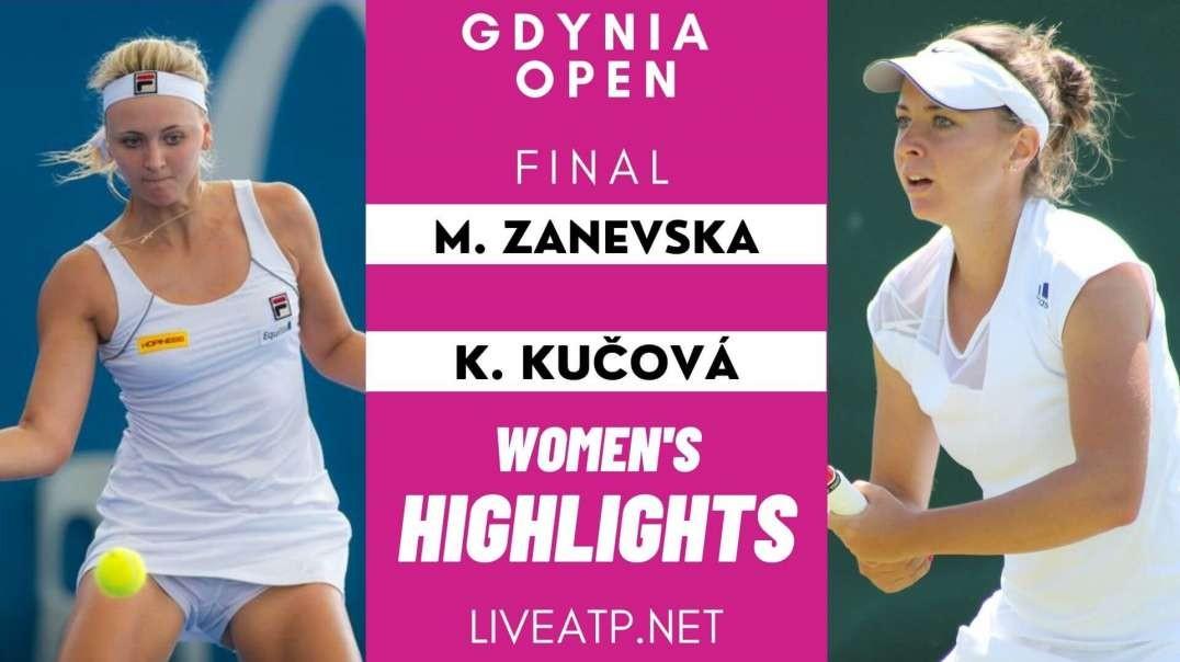 Gdynia Open Women Final Highlights 2021 | WTA