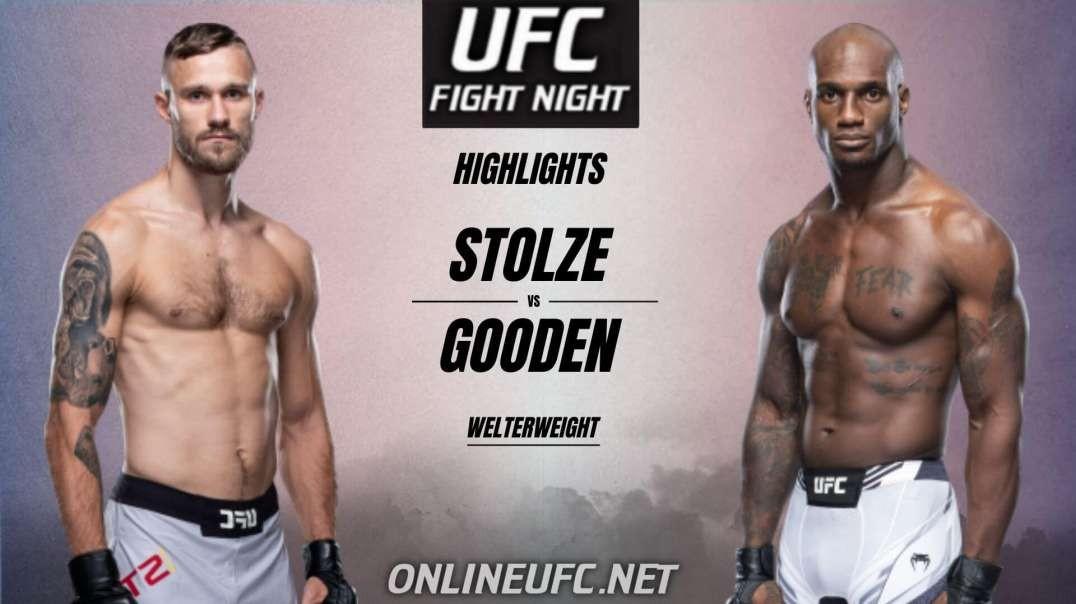 Niklas Stolze vs Jared Gooden Highlights 2021 UFC